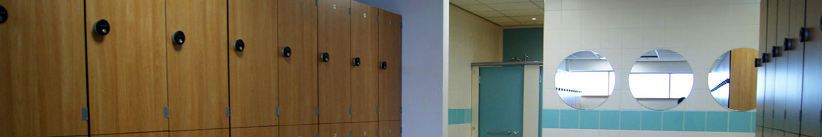 Lockers for Leisure centre
